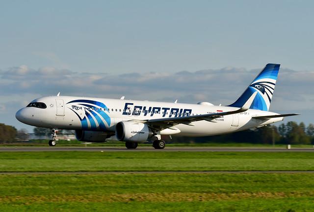 SU-GFJ A320-251N cn 9473 Egyptair 201016 Schiphol 1001