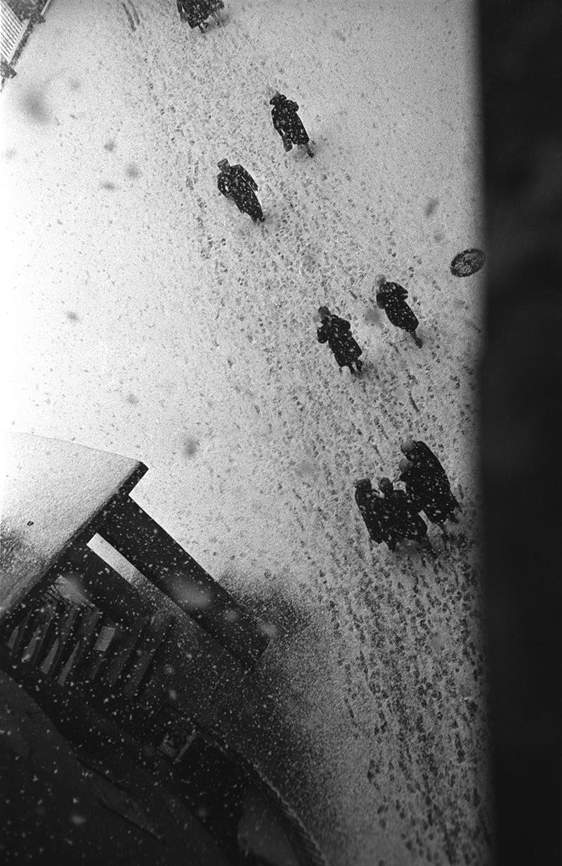 1960-е.  По первому снегу