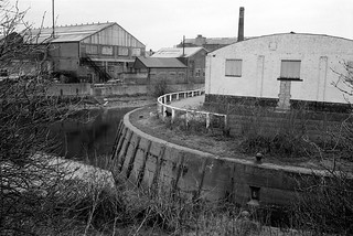 Old River Lee, Waterworks River, Stratford Marsh, Newham, 1983 33x-24_2400