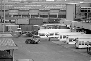 Freightliner Terminal, Cold Stores, Stratford, Newham, 1983  36n-52_2400