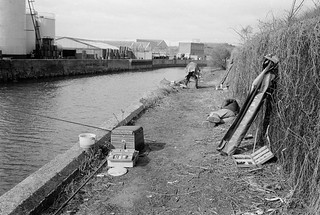 City Mill River, Stratford Marsh, Newham, 1983 33x-34_2400
