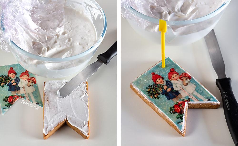 decoración galletas navidad
