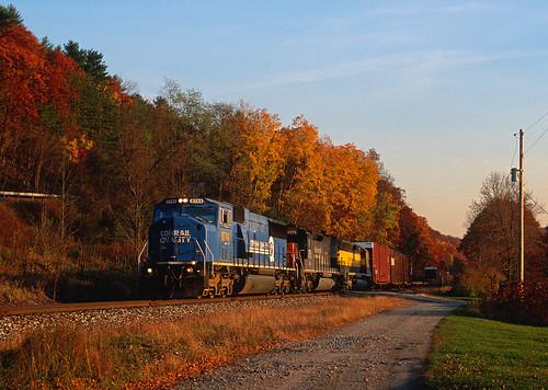 nysw csx ml401 cochectonny conrail emd sd60i southerntierline train railfan railroad