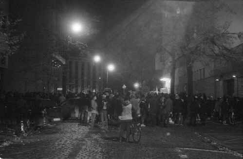 "Demo near ""Law and Justice"" party HQ in Poznań 