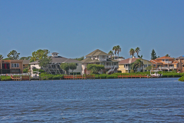 Some of the Houses we passed on our way to Anclote Key (aka Anclote Island)