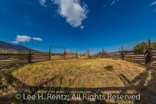 Corral at Ewing-Snell Ranch at Bighorn Canyon