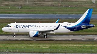 Kuwait A320-251N msn 10060 9K-AKQ