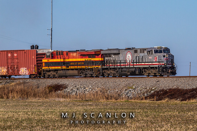 KCS 4859 | GE ES44AC | UP Memphis Subdivision