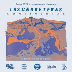 Flyer Lanzamiento Las Carreteras