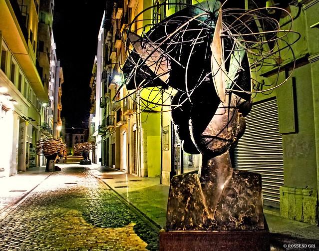 Art al carrer. Manolo Valdés a Girona. 2009
