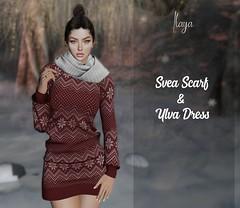 [ILAYA] Ylva Dress & Svea Scarf