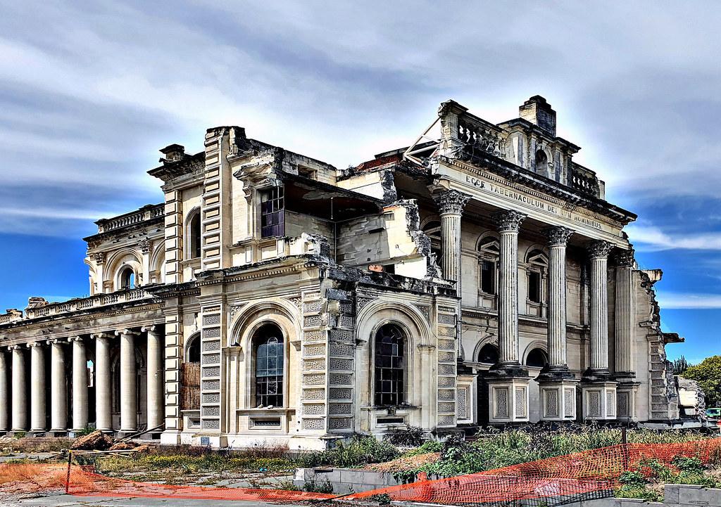 Cathedral demolition Christchurch NZ