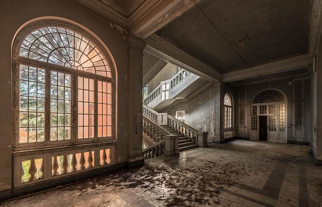 Abandoned psychiatric hospital - Manicomio de Quarto