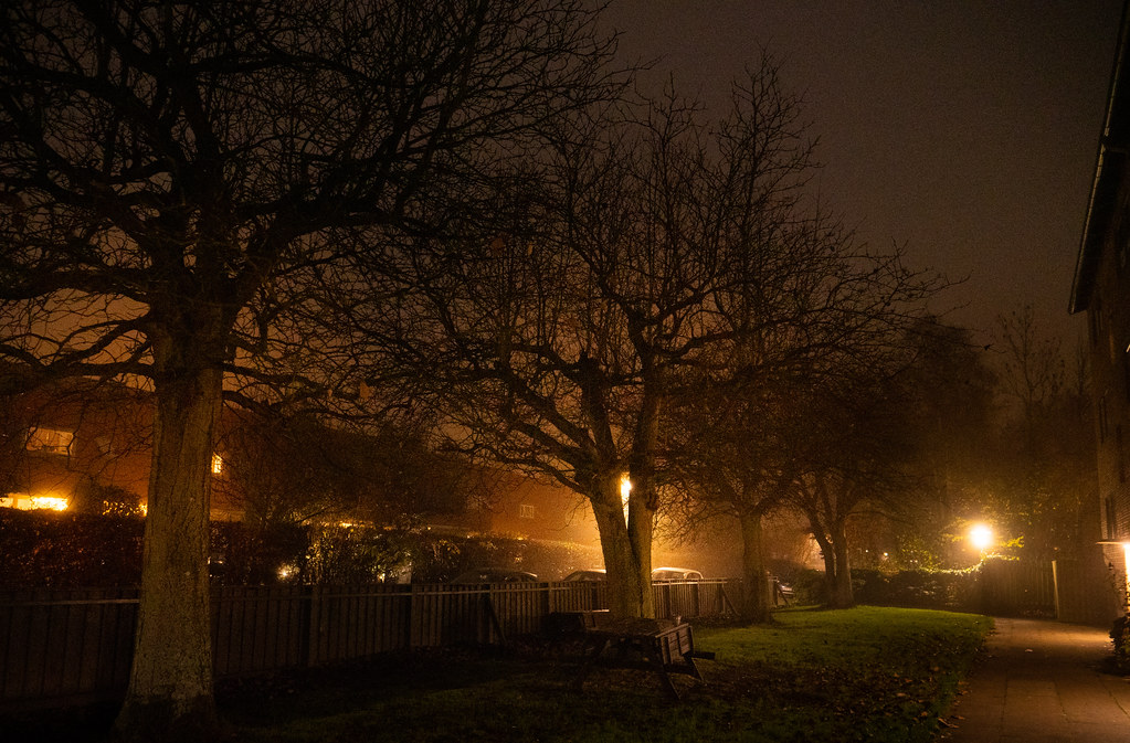 Another foggy night... (2)