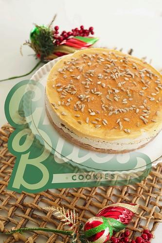 RAW- Sunflower Pumpkin Cheesecake by Green Bites Cookies