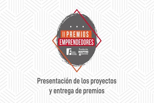 Logo de los II Premios Emprendedores de la Fundación MAPFRE Guanarteme y la Fundación Universitaria de Las Palmas