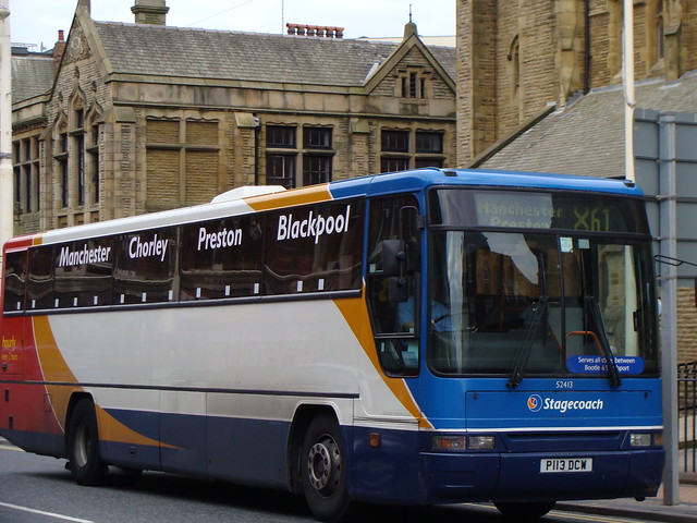 Stagecoach North West 52413 P113DCW