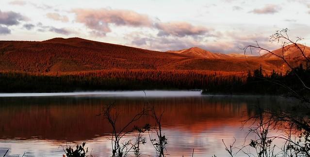 Robert Campbell Highway.  Yukon Territory, Canada.
