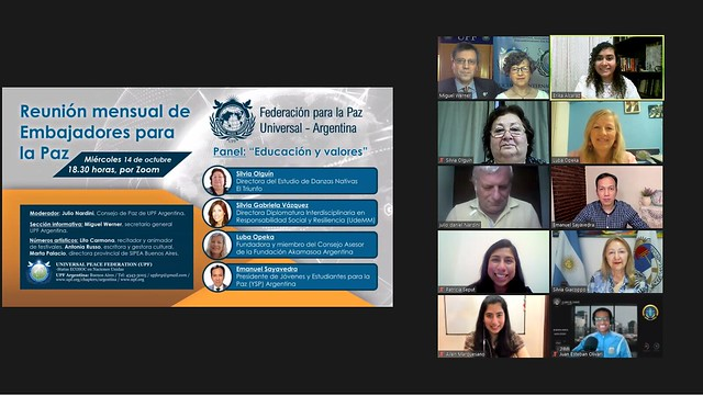 Argentina-2020-10-14-UPF-Argentina's Zoom Panel Focuses on Education