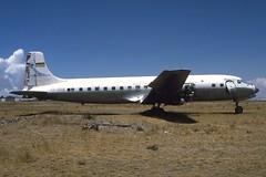 ex-Lloyd Aero Boliviano DC-6 CP-740, La Paz, Bolivia 23Sep94