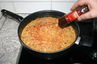 36 - Season with chili flakes / Mit Chiliflocken würzen