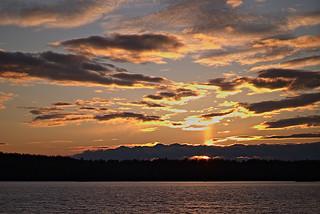 Lake Massabesic Sunset 11-28-20