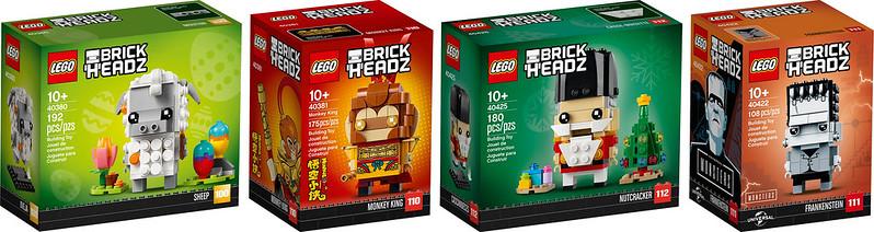 LEGO BrickHeadz GG