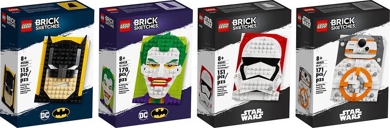 LEGO Brick Sketches GG
