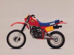1984 Honda XR500R Brochure Page 1