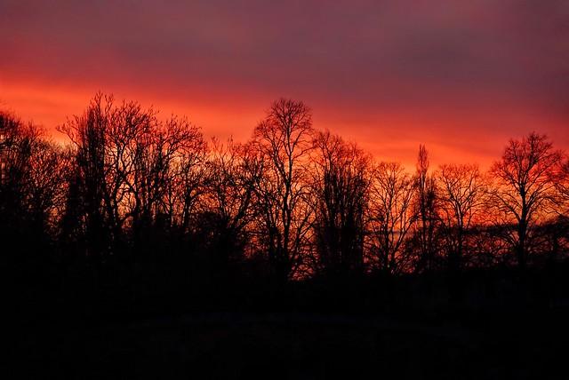 Those beautiful Autumn sunrises!