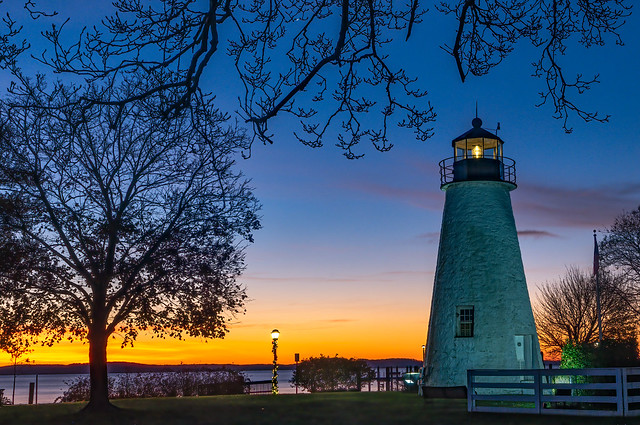 Concord Point Lighthouse at Dawn