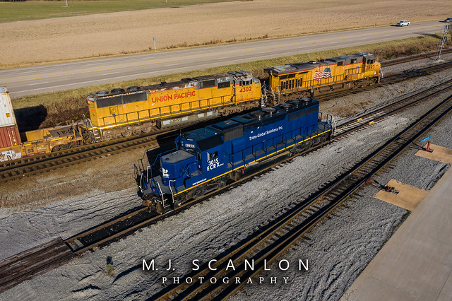 ECRX 3015 | EMD SD40-2 | UP Marion Intermodal Railport
