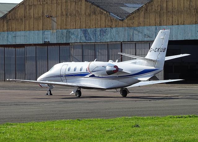 G-CKUB Cessna 560 Citation XLS