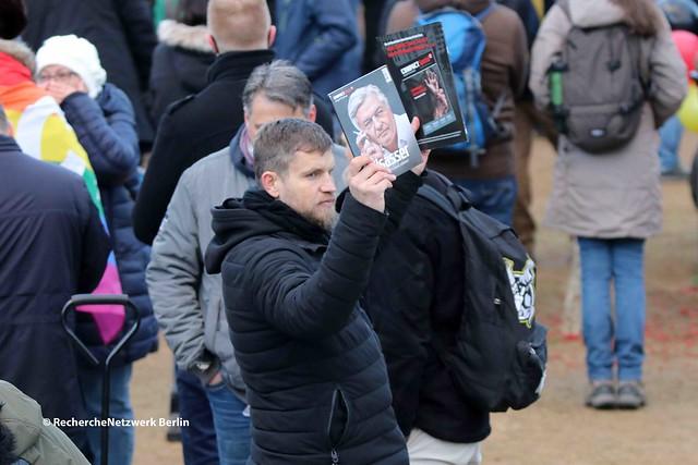 28.11.2020 Frankfurt Oder: Polnisch-Deutsche-Kundgebung gegen Corona-Infektionsschutzmaßnahmen