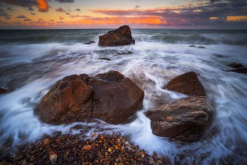 australia nisifilters southaustralia adelaide australianlandscapephotographer dawn everlooklandscapephotography everlookphotography hallettcove nature seascape sunrise waves