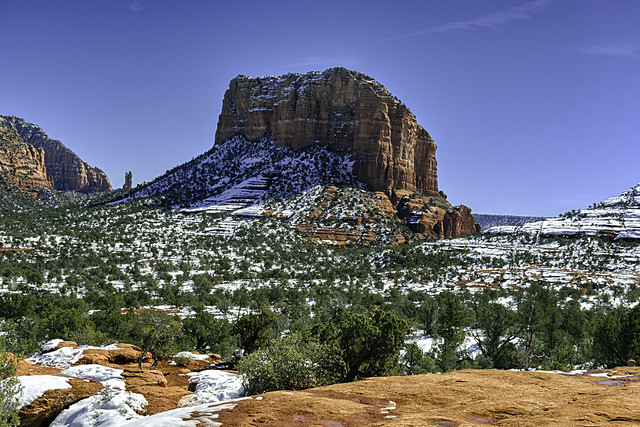 Red Rock in Sedona - Courthouse Butte