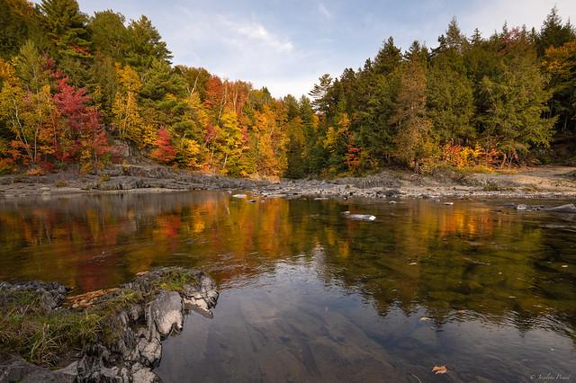 Parc de la Chute Sainte-Agathe,  Sainte-Agathe, Québec, Canada