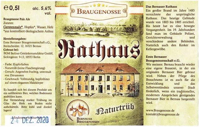 Germany - Erste Bernauer Braugenossenschaft (Bernau)
