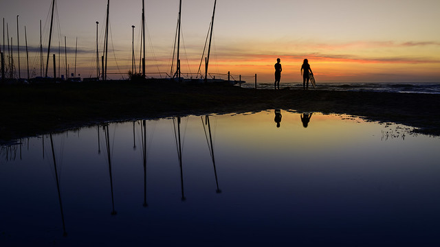 Sunrise on the Beach Prat de Llobregat BCN