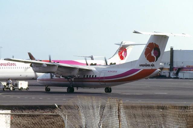 079 DHC7 N949HA Hawaiian Air HNL 04-87