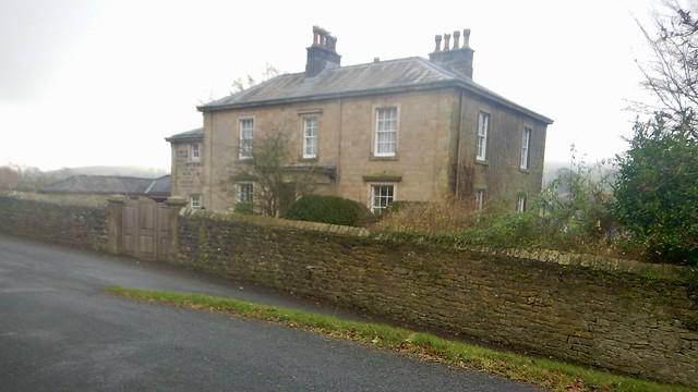 Cut Mark: Downham, Downham Vicarage Gatepost a