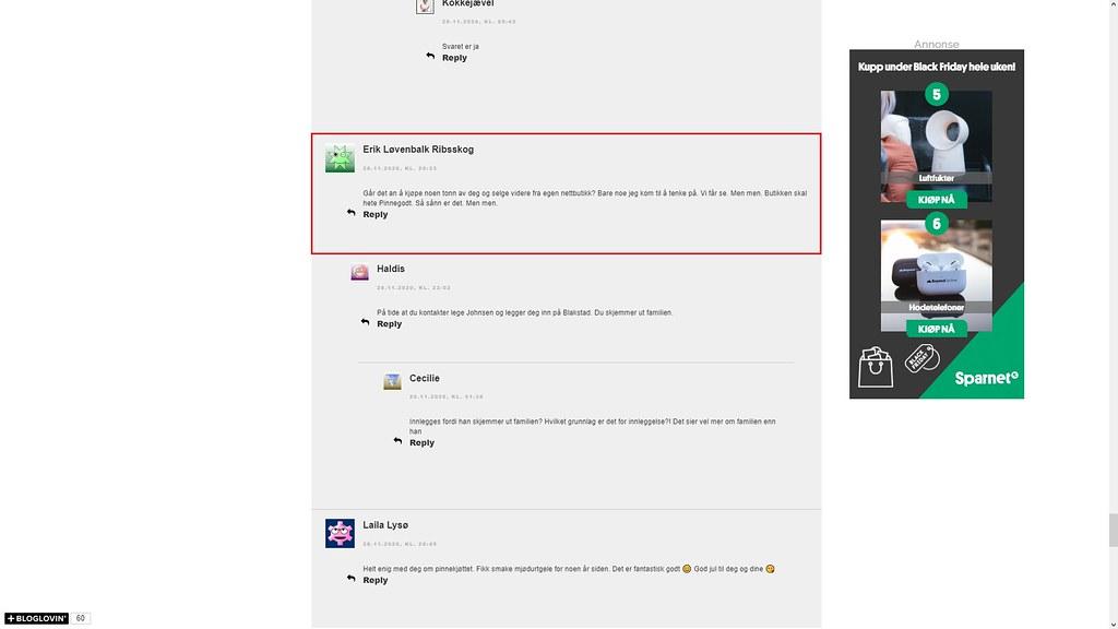 nettmobbing 29. november