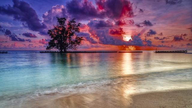 derawan sunset