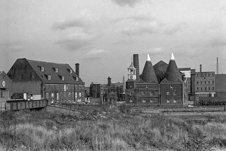 House Mill, Clock Mill, Three Mills Island, Bromley-by-Bow, Newham, 1981 29q-15_2400