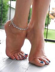 Foot Model Alicia Dwyer, Texas