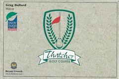 An Indiana Golf Scorecard