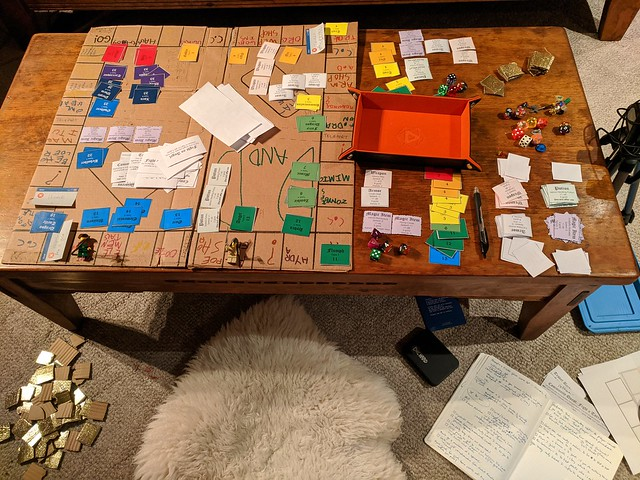 Ferguson Family Board Game Testing