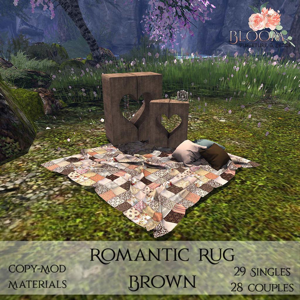 Bloom! - Romantic Rug BrownAD