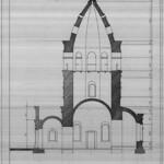 Китайгород - Варваринская церковь - Обмеры - Разрез 002 PAPER600 [Вандюк Е.Ф.]