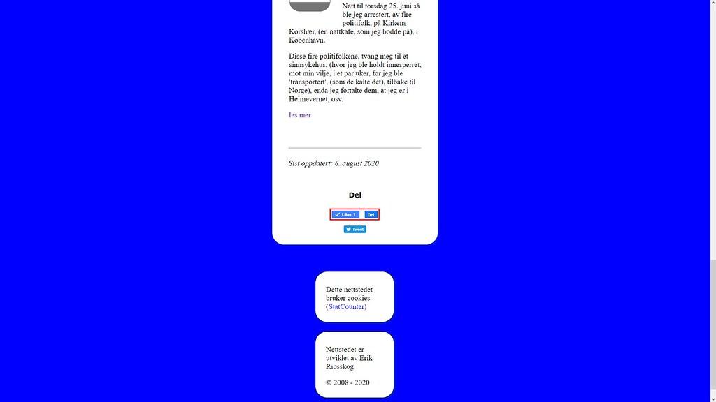 midtstilt facebook knapp johncons net